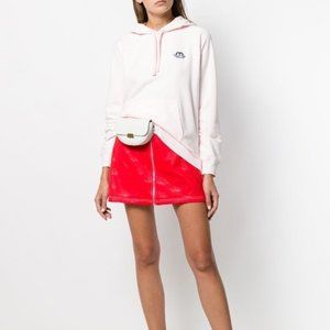 Pink Fiorucci Iconic Angels hoodie